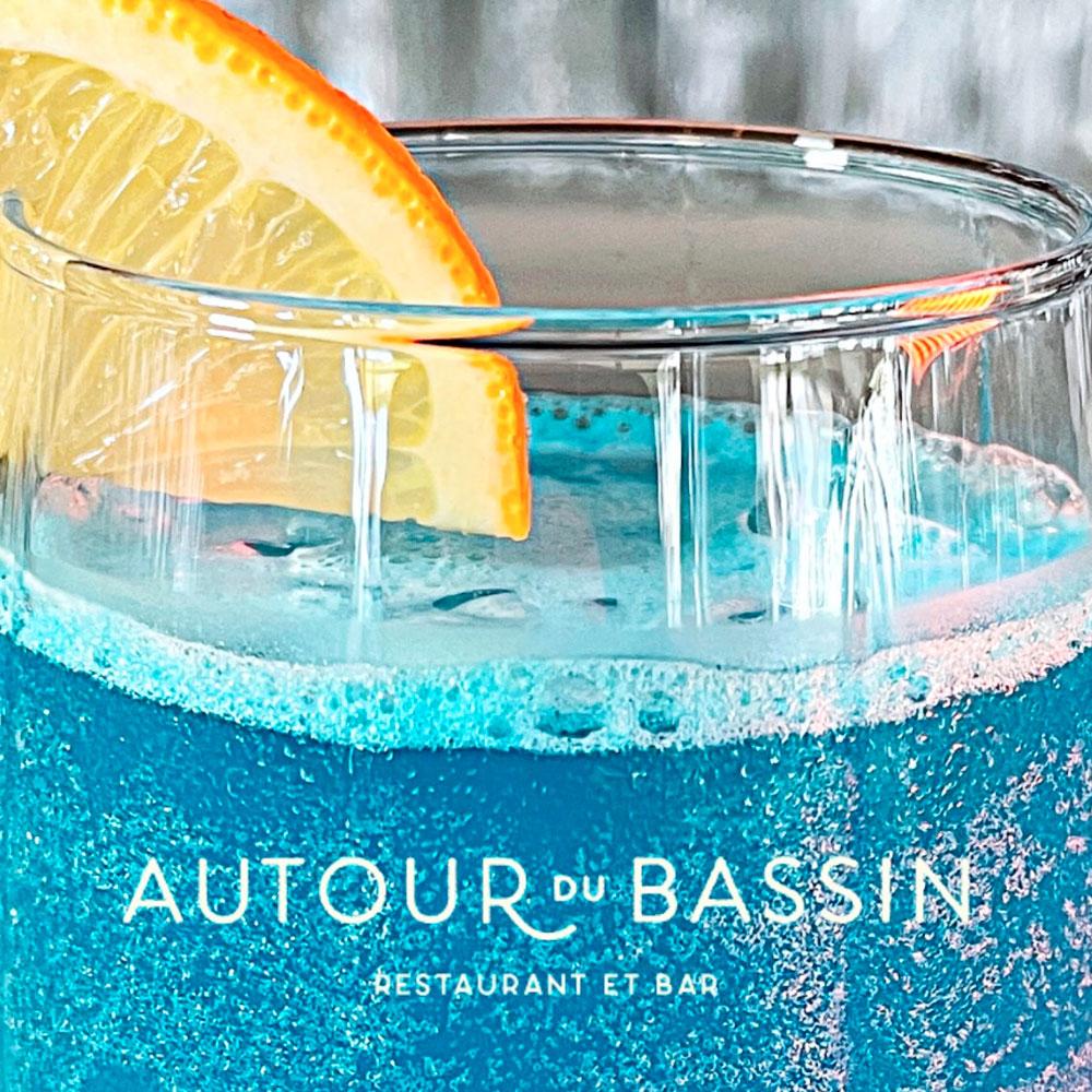 Cocktails chez autour du bassin restaurant à port marianne montpellier