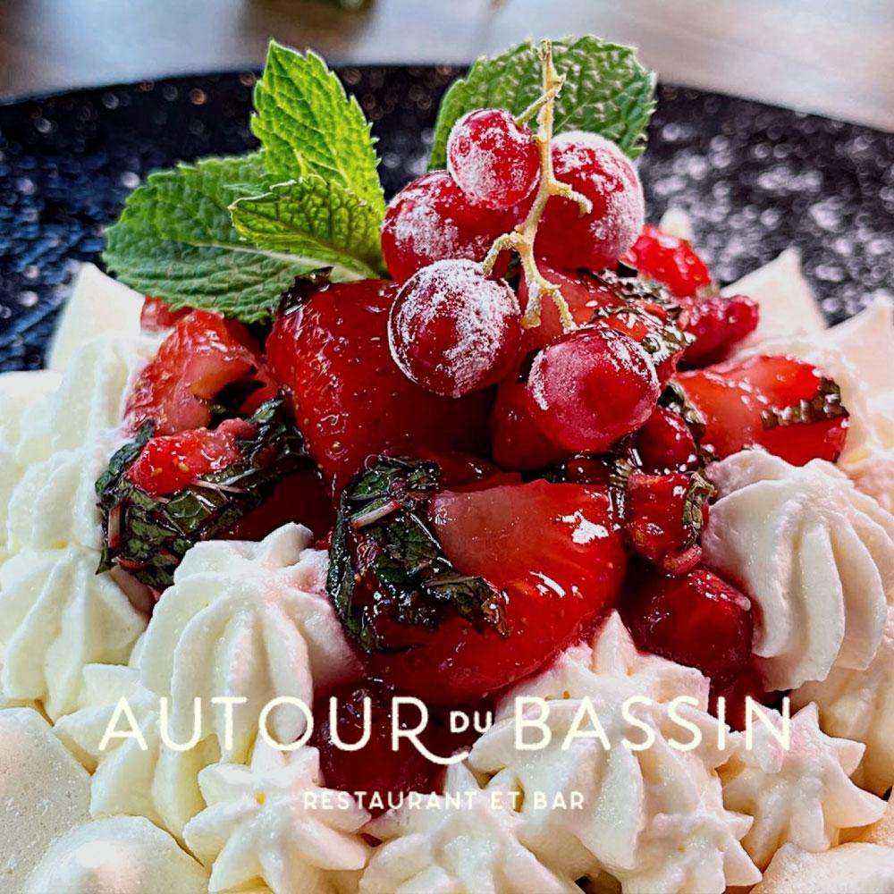 Desserts Restaurant autour du bassin restaurant à port marianne montpellier